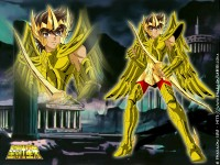 Seiya with Sagittarius Cloth