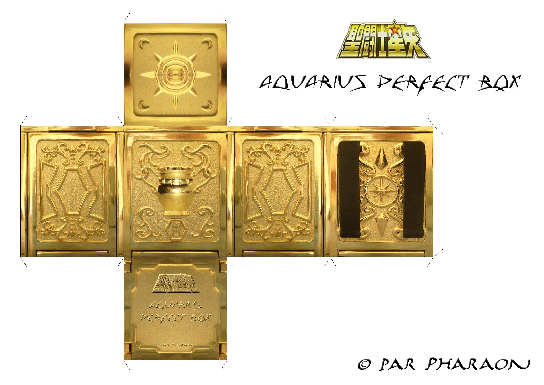 Haz Tu Caja Amuleto (Caballeros del Zodiaco )