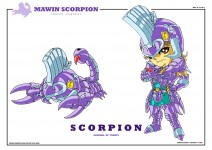 Scorpion Mawin