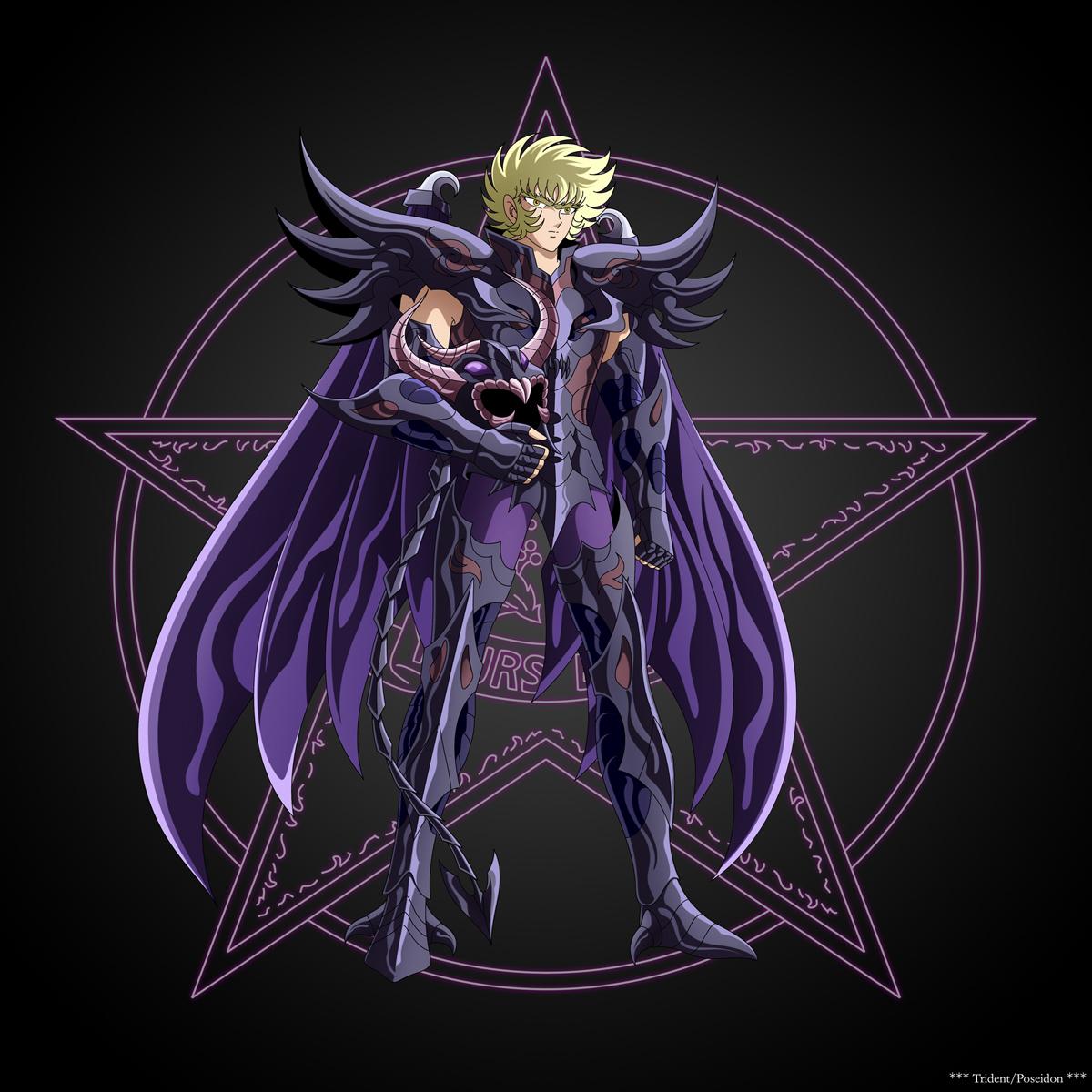 Juez del Inframundo - Radamanthys de Wyvern - Estrella Celeste de la Ferocidad PS011-Rhadamanthe