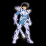 Seiya with Odin Cloth